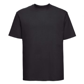 WICK HIGH SCHOOL BLACK T- SHIRT WITH EMBROIDERED LOGO
